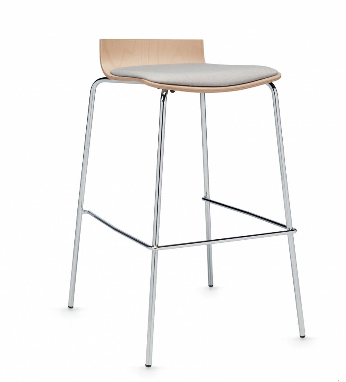 Strange Global Sas Low Back Bar Stool With Upholstered Seat Gmtry Best Dining Table And Chair Ideas Images Gmtryco