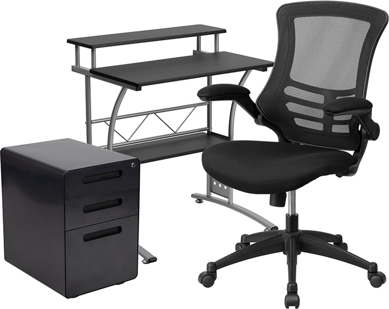 Flash Furniture Small Home Office Furniture Set