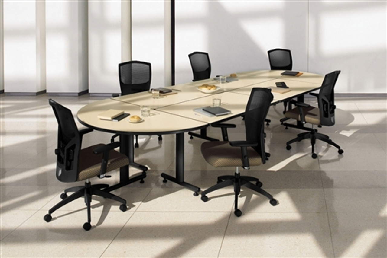 Global ConnecTABLES Modular Boardroom Table Layout CNN5
