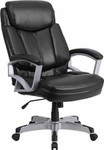 Flash Furniture Black Leather Big and Tall Office Chair (500 lb. Capacity)