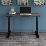 storm gray move 60 table with black legs
