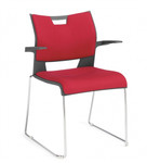 Global Duet Stacking Chair 6627 (4 Pack)