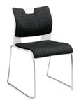Global Duet Stacking Chair 6628 (4 Pack)