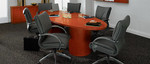 Global Easton 10' Wood Veneer Conference Table