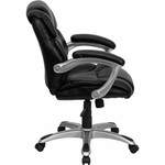 Flash Furniture Black Leather Office Task Chair