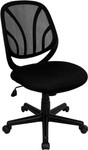 Flash Furniture Black Mid Back Mesh Computer Task Chair