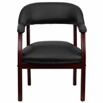 Flash Furniture Black Vinyl Luxurious Conference Chair