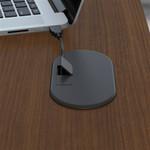 """Bush Series A 48"""" Corner Desk with Mobile File Cabinet SRA035"""
