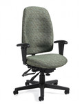 Global Granada Series High Back Multi Tilter Office Chair 3217