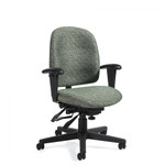 Global Granada TS3212 24hr. Heavy Duty Multi Tilter Office Chair