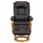 Flash Furniture Brown Leather Recliner