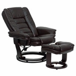 FL-BT-7818-BN-GG-Flash Furniture Brown Leather Recliner