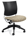 Global Graphic Series Poly Back Computer Chair 2736