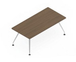 Global Kadin Small Rectangular Conference Table LKD3666
