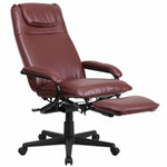 Flash Furniture Burgundy Leather Reclining Office Chair BT-70172-BG-GG