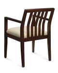 Global Layne Series Vertical Wood Slat Armchair 8526T