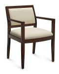 Global Layne Series Wood Armchair 8522T