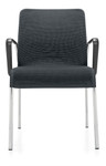 Global Lite Series 4 Leg Mesh Side Chair with Loop Arms (24 Color Options Available!)