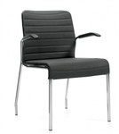 Global Lite Series 5951 Fabric Guest Chair with Arms (10 Colors Available!)
