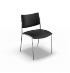 4 Pack of Mayline Escalate Series Plastic Stack Chair ESC2 (2 Colors!)