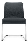 Global Lite Series Armless Sled Base Mesh Guest Chair 5943 (24 Color Options Available!)