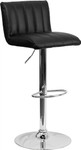 Flash Furniture Contemporary Black Vinyl Bar Stool