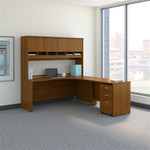 Bush Series C 72W Right Hand Corner Desk with 48W Return and Storage