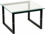 Flash Furniture Contemporary Glass End Table
