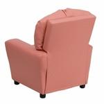 Flash Furniture Contemporary Pink Kids Vinyl Recliner