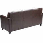 Flash Furniture Diplomat Series Brown Leather Sofa
