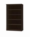 5 Shelf Medina Series Mocha Bookcase MVB5LDC by Mayline