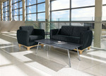 Global Prairie 2 Piece Commercial Lounge Furniture Set