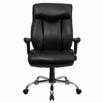 Flash Furniture Executive Leather Big & Tall Chair (350 lb. Capacity)