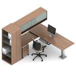 Global Princeton Modular Executive Desk A5-3H