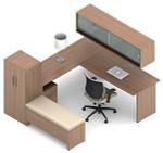 Global Princeton Modular Executive Desk B2E1