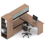 Global Princeton Modular Executive Desk Configuration A10