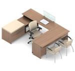 Global Princeton Modular Office Desk Workstation A4A1