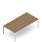 Global Princeton Series 8' x 4' Rectangular Fixed Leg Multi Purpose Table
