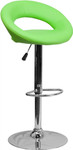 Flash Furniture Green Vinyl Counter Height Bar Stool