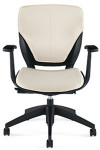Global Roma Series Leather Task Chair 1908L