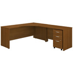 Bush Series C Right Handed Corner Desk with Mobile File Cabinet