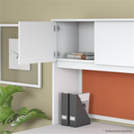 "Bush Studio C 72"" Over-Desk Hutch"