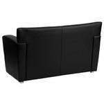 Flash Furniture HERCULES Majesty Series Black Leather Love Seat