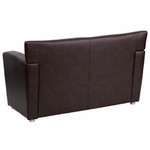 Flash Furniture HERCULES Majesty Series Brown Leather Love Seat