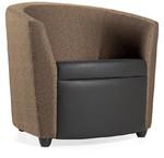 Global Sirena Series 3371LF Two Tone Lounge Chair