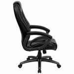 Flash Furniture High Back Black Leather Executive Chair