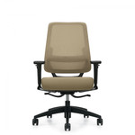 Global Sora Medium Back Weight Sensing Synchro Tilter Office Chair 6942