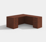 cherryman amber l-desk am-314n in cherry