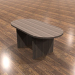 cherryman amber oval top conference table