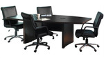 aberdeen conference table actb6 mocha